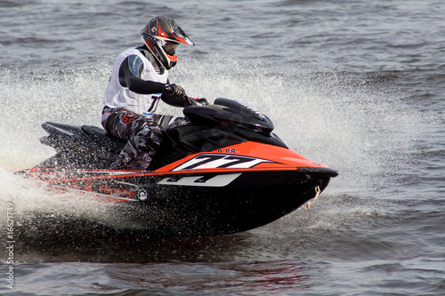 Jet ski competition in Riga