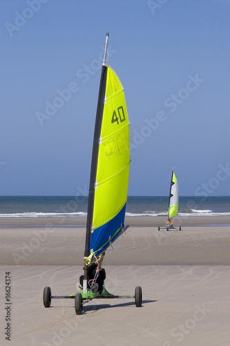 Char A Voile Sur La Plage De Berck Sur Mer Cote D Opale Buy This Stock Photo And Explore Similar Images At Adobe Stock Adobe Stock