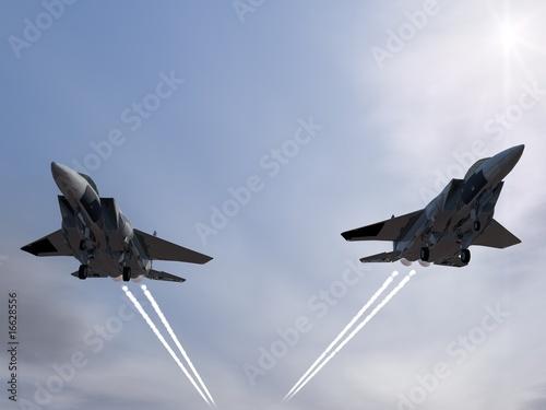 F15 Staffel Fototapet