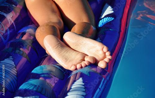 Valokuva  Weiße Fußsohlen