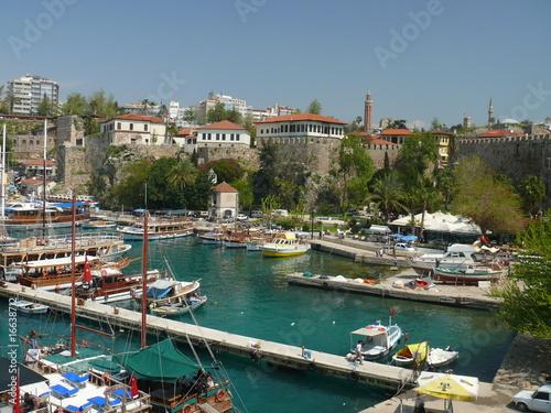 La pose en embrasure Turquie Altstadt von Antalya, Türkei