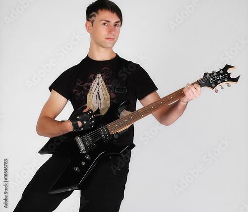 Photo gitarrist