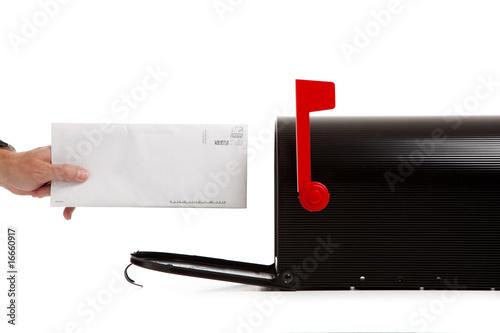 Fotografie, Obraz  Delivering or Receiving Mail