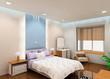 a snug bedroom design proposal