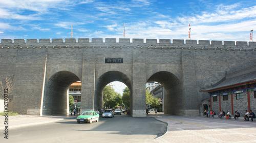 古城西安城门