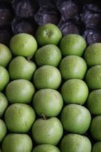 Granny Smith Äpfel Auf Markt