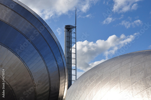 Glasgow Tower, Science Centre and Imax фототапет