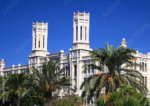 Fotografie, Obraz Cagliari palazzo del comune