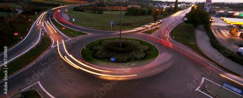 Fototapeta  kreisverkehr