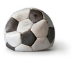 canvas print picture - Fussball ohne Luft