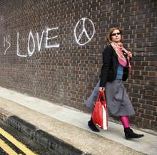 Woman Walk In London