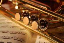 Trompeta Con Partitura