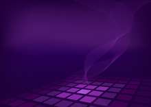 Violet Background With 3D Effect