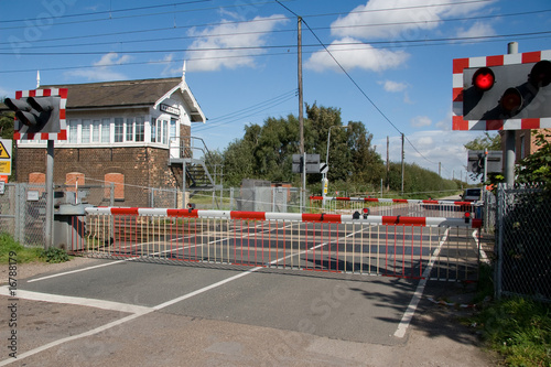 Level Crossing Canvas-taulu