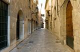 Narrow spanish street