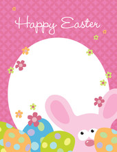 8.5x11 Easter Flyer Template