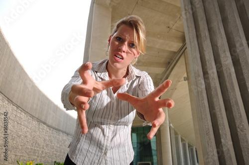 Fotografie, Obraz  Caucasian Woman In Smart Casual