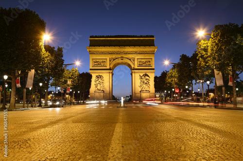 Foto-Kassettenrollo premium - Arc de Triomphe, Paris