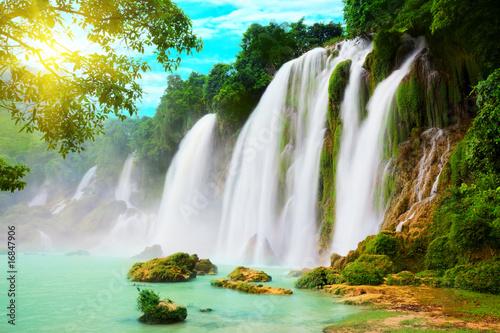 Fotomural Detian waterfall
