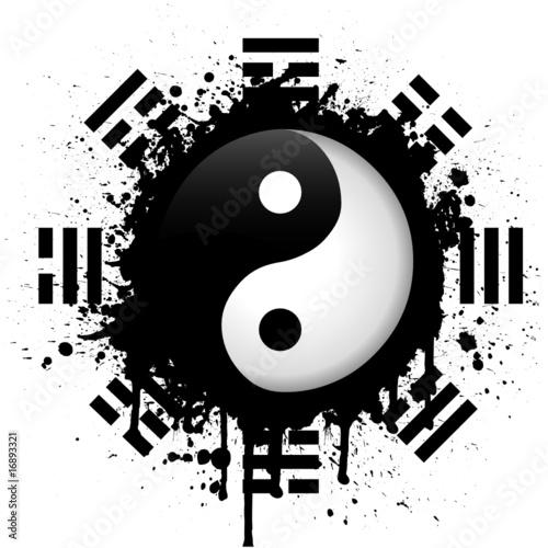 Fotomural yin yang