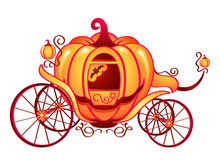 Pumpkin Carriage For Cinderell...