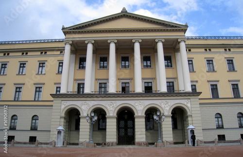 Photo  palais royal de norvege