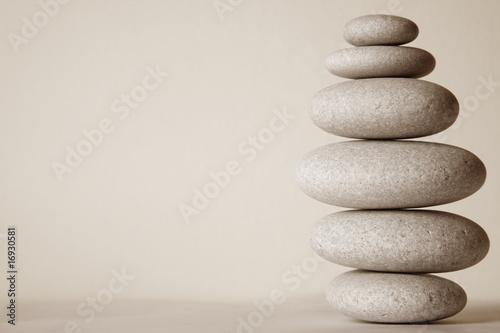 Foto op Plexiglas Stenen in het Zand Piedras Zen
