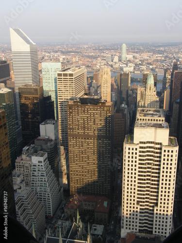 Fotografie, Obraz  Aerial View of New York City