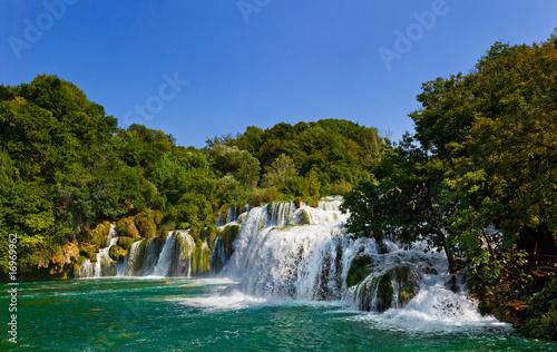 Fototapeta wodospady wodospad-i-jezioro