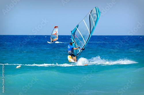 Fotografie, Obraz  Rhodes windsurf 3
