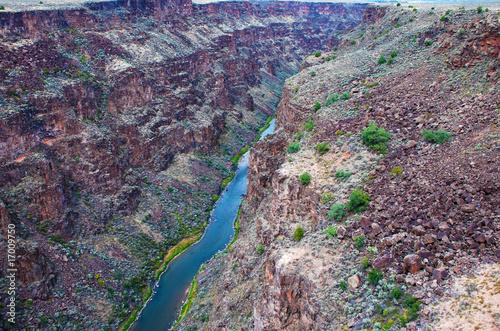 Fotografie, Obraz  Rio Grande Gorge