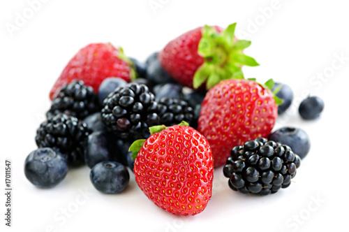 Fotografía  Assorted fresh berries