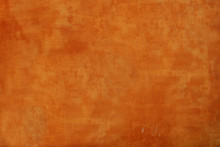Textured Orange Wall Background