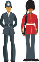 Cute British  Officers