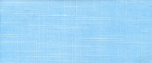 Blue Textile Flax Fabric Wickerwork Texture Background