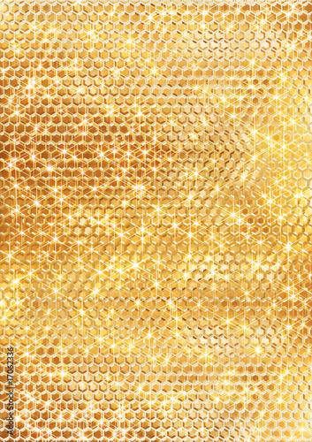 Fotografie, Obraz  ゴールドのスパンコールの背景