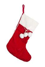 Christmas Stockings On A Fireplace Mantel