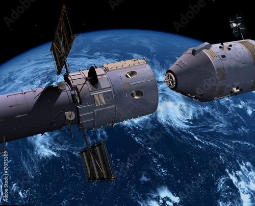 Naklejki kosmos statek-kosmiczny