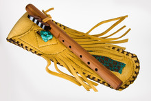 Native Flute With Case