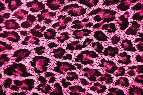 Pink leopard skin
