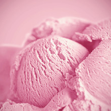 Pink Ice Cream Macro