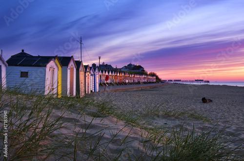 Obraz na płótnie Southwold Beach Huts