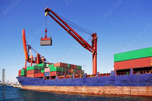Fotografía  Cargo container