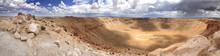 Panoramic View Of Meteor Crate...