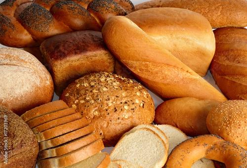 Foto op Plexiglas Bakkerij Bakery products