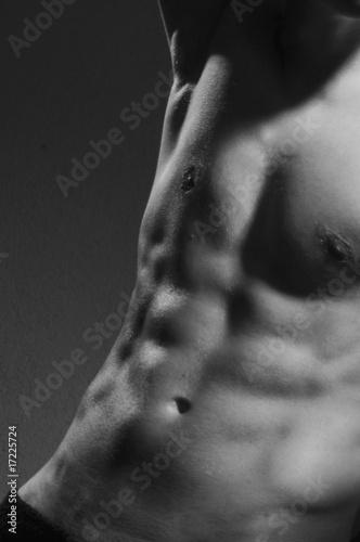 man topless Slika na platnu