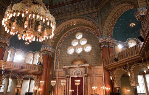 Fotomural interior of Sofia synagogue