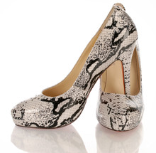 Womens High Heel Python Shoes ...
