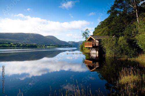 Ullswater Boathouse Fototapeta