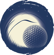 The Lonely Golf Ball